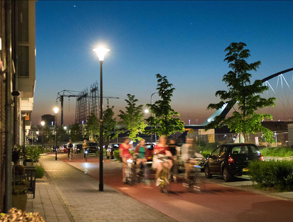 Quality lighting solutions adapt to usage patterns of the public realm after dark